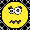 Confounded Emoji Emoticon Smiley Icon