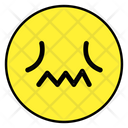 Confounded Emoji Confounded Emoticon Confounded Face Icon