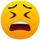 Confounded Face Emoji Emotion Icon