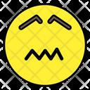Emoji Confounded Face Emoticon Icon