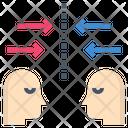 Confront Face Encounter Icon
