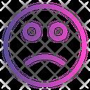 Confuse Emoticon Cute Emoji Icon