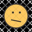Confused Emoji Face Icon