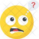 Confused Question Smiley Icon