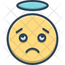 Confused Distressing Gloomy Icon