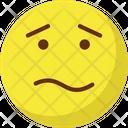 Confused Sad Puzzle Icon