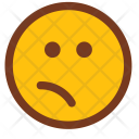Confused Disgusted Emoji Icon
