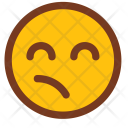 Confused Disgusted Face Icon