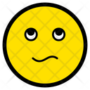 Confused Messy Emotion Icon
