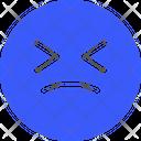 Confused Emoji Expression Icon