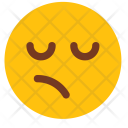 Confused Face Disgusted Icon