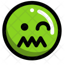 Confused Disgusted Man Icon