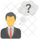Business Concerns Confused Icon