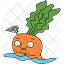 Confused Carrot Icon