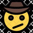 Confused Cowboy Icon