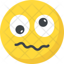 Confounded Confused Emoji Icon