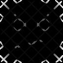 Confused Face Emoji Icon
