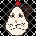 Confused Hen Icon