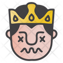 Confused King Icon