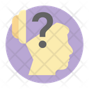 Confused Person Thinker Philosopher Icon