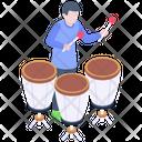 Conga Music Icon
