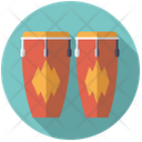 Congas Percussion Drums Icon