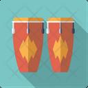 Congas Percussion Drum Icon