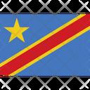 Flag Country Congo Icon