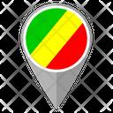 Congo Country Location Location Icon
