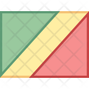 Congo Flag Country Icon