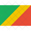 Congo Brazzaville Flag Icon