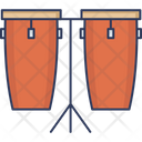 Congo Drum Drum Instrument Icon