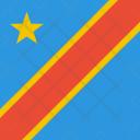 Congo Kinshasa Flag Icon
