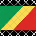 Flag Country Congo Republic Icon
