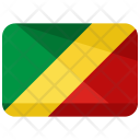 Congo Republic Flag Icon