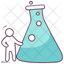 Conical Flask Lab Apparatus Lab Beaker Icon