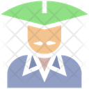 Conical Hat Asian Icon