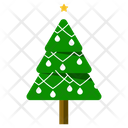 Christmas Tree Evergreen Tree Conifer Tree Icon