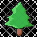 Conifer Tree Pine Fir Icon