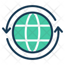 Connect Global Connectivity Communication Icon