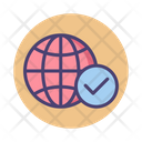 Connect Connection Global Network Icon