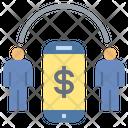 Connect Money Online Icon
