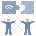 Connect Jigsaw Network Icon
