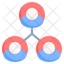 Connect Network Communication Icon