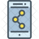 Connect Mobile Share Icon