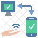 Connect Hotspot Smartphone Icon