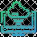 Cloud Online Smart Icon