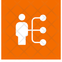 Connect User Network Icon