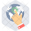 Connect World Icon