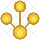Connected Users Networking Icon